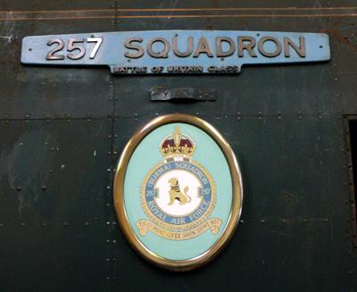 34072 257 Squadron | History